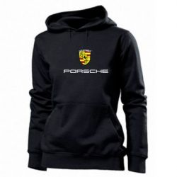 Женская толстовка Porsche - PrintSalon