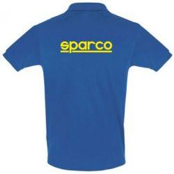 Футболка Поло Sparco - PrintSalon