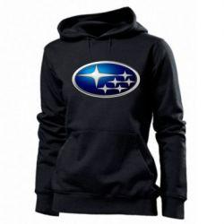 Женская толстовка Subaru 3D Logo