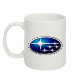 Кружка 320ml Subaru 3D Logo