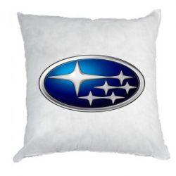 Подушка Subaru 3D Logo