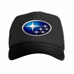 Кепка-тракер Subaru 3D Logo