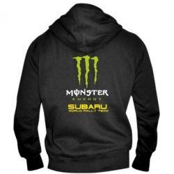 Мужская толстовка на молнии Subaru Monster Energy