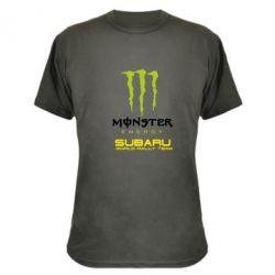 Камуфляжная футболка Subaru Monster Energy