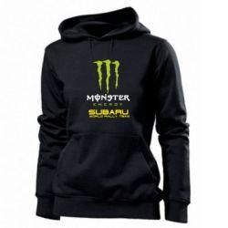 Женская толстовка Subaru Monster Energy