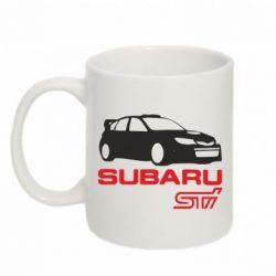 Кружка 320ml Subaru STI