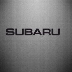 Наклейка Subaru