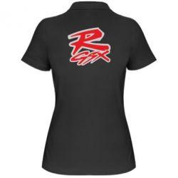 Женская футболка поло Suzuki GSX-R Logo