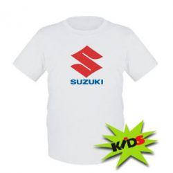 Детская футболка Suzuki - PrintSalon