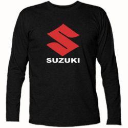 Футболка с длинным рукавом Suzuki - PrintSalon
