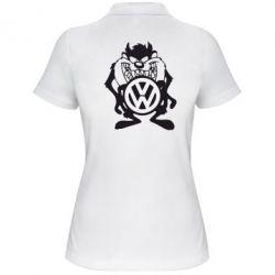 Женская футболка поло Тасманский дьявол Volkswagen