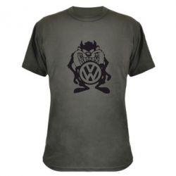 Камуфляжная футболка Тасманский дьявол Volkswagen
