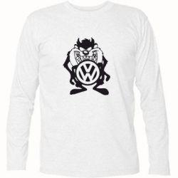 Футболка с длинным рукавом Тасманский дьявол Volkswagen