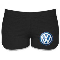 Женские шорты Volkswagen 3D Logo
