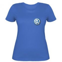 Женская футболка Volkswagen Small Logo