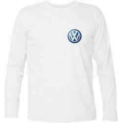 Футболка с длинным рукавом Volkswagen Small Logo