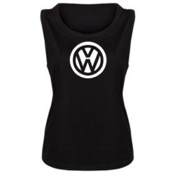 Женская майка Volkswagen - PrintSalon