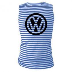Майка-тельняшка Volkswagen - PrintSalon