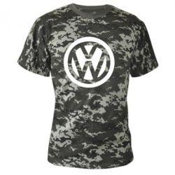 Камуфляжная футболка Volkswagen - PrintSalon