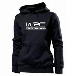 Женская толстовка WRC - PrintSalon