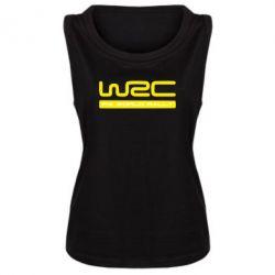 Женская майка WRC - PrintSalon