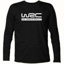 Футболка с длинным рукавом WRC - PrintSalon