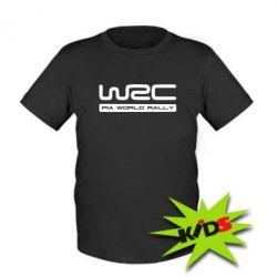 Детская футболка WRC - PrintSalon