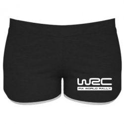 Женские шорты WRC - PrintSalon