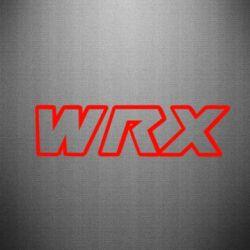 Наклейка WRX logo