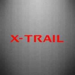 Наклейка X-Trail