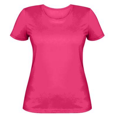 Цвет Розовый, Женские футболки - PrintSalon