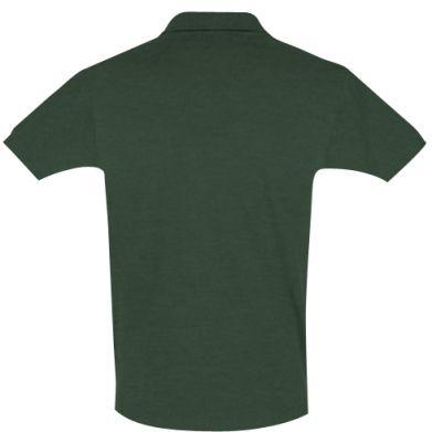 Цвет Темно-зеленый, Поло мужские - PrintSalon