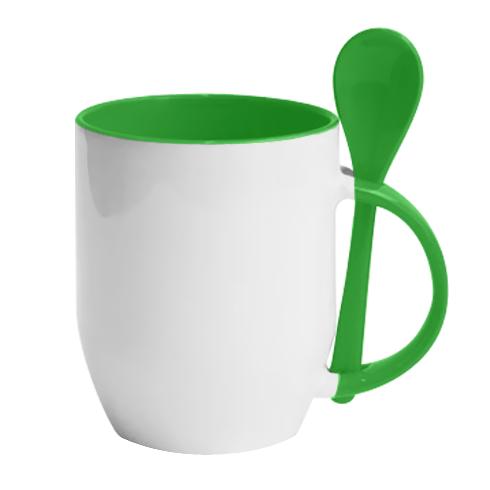 Чашка с ложкой TAXI