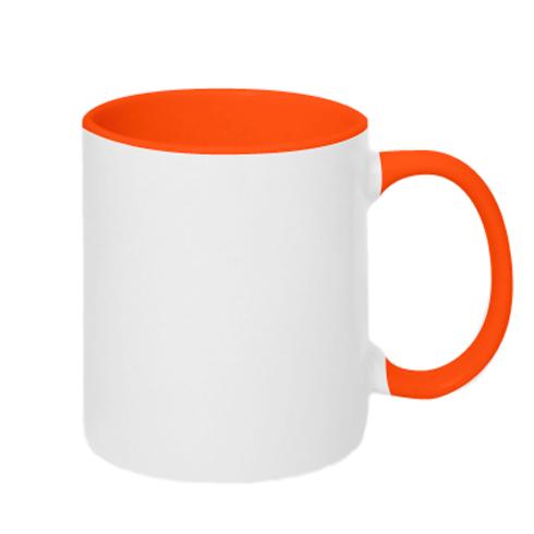 Чашка двухцветная 320ml Full time 4wd