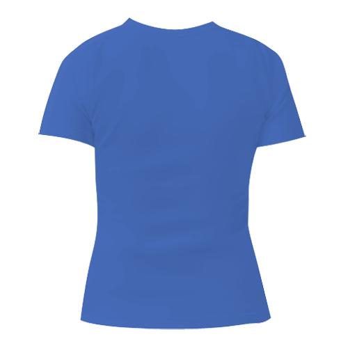 Женская футболка с V-образным вырезом Я тренер Бульбазавра