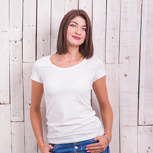 Жіноча футболка 1Cupergirl