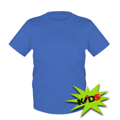 Цвет Синий, Детские футболки - PrintSalon