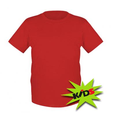 Цвет Красный, Детские футболки - PrintSalon