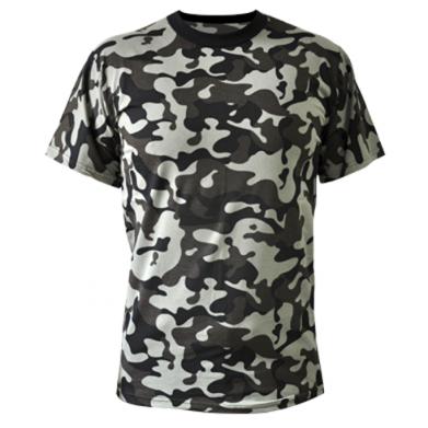 Камуфляжная футболка ОХОРОНА - купить в Киеве c2f33d09e9036