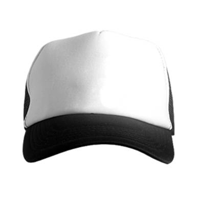 Цвет Черный+белый, Кепки-тракеры - PrintSalon