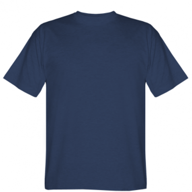 Цвет Темно-синий, Мужские футболки - PrintSalon