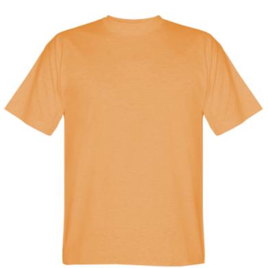 Цвет Оранжевый, Мужские футболки - PrintSalon