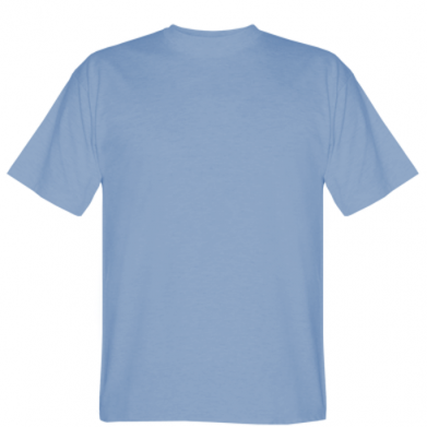 Колір Блідо-блакитний, Чоловічі футболки - PrintSalon