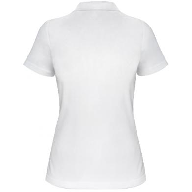 Цвет Белый, Поло женские - PrintSalon