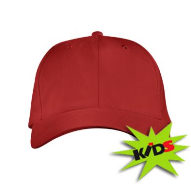 Цвет Красный, Детские кепки - PrintSalon