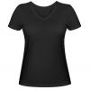 Женская футболка с V-образным вырезом LOGAN