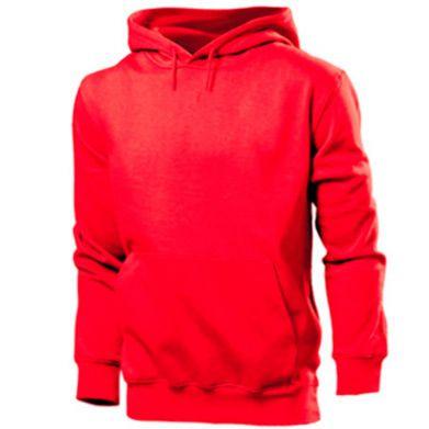 Колір Червоний, Чоловічі худі - PrintSalon
