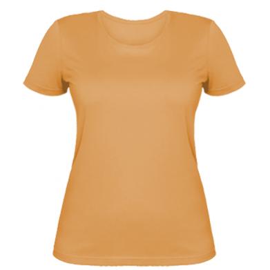 Цвет Оранжевый, Женские футболки - PrintSalon