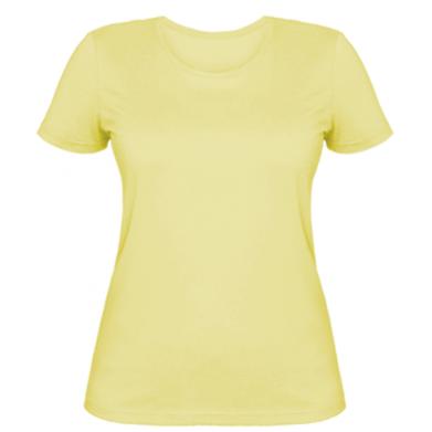 Цвет Желтый, Женские футболки - PrintSalon
