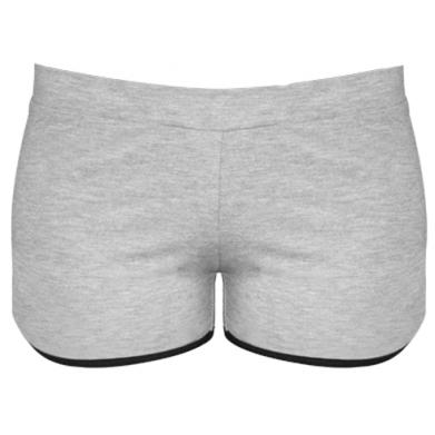 Цвет Серый, Женские шорты - PrintSalon
